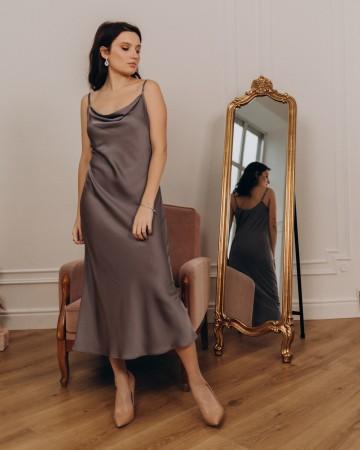 Жіноча сукня комбінація, британський сірий